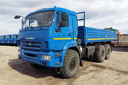 Бортовой автомобиль КАМАЗ 43118-6013-50